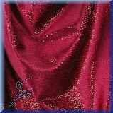 Velvet with red - horizontal and vertical stretch