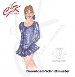 Kürkleider Download-Schnittmuster Gr. 116 - 158